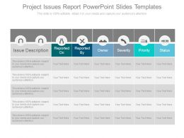 project_issues_report_powerpoint_slides_templates_Slide01