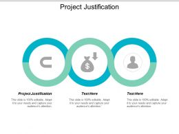 Project Justification Ppt Powerpoint Presentation Layouts Icons Cpb