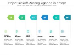 Project Kickoff Meeting Agenda In 6 Steps