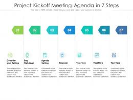 Project Kickoff Meeting Agenda In 7 Steps