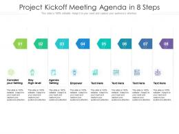 Project Kickoff Meeting Agenda In 8 Steps
