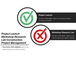 Project Launch Workshop Research Lab Construction Project Management