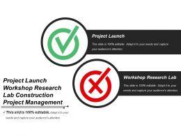 Project Launch Workshop Research Lab Construction Project Management