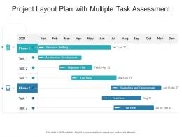 Project Layout Plan With Multiple Task Assessment
