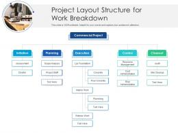 Project Layout Structure For Work Breakdown