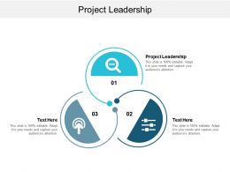 Project Leadership Ppt Powerpoint Presentation Icon Design Ideas Cpb