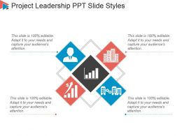 Project Leadership Ppt Slide Styles