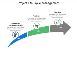 Project Life Cycle Management Ppt Powerpoint Presentation Layouts Picture Cpb