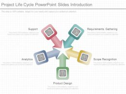 Project Life Cycle Powerpoint Slides Introduction