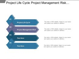 Project Life Cycle Project Management Risk Effective Communication Styles Cpb