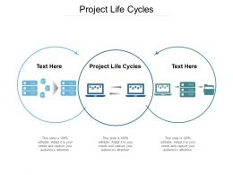 Project Life Cycles Ppt Powerpoint Presentation Infographics Microsoft Cpb