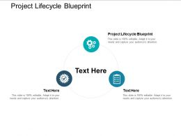 Project Lifecycle Blueprint Ppt Powerpoint Presentation Gallery Graphics Tutorials Cpb