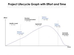 Project Lifecycle Graph With Effort And Time