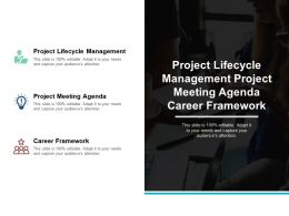 Project Lifecycle Management Project Meeting Agenda Career Framework Cpb