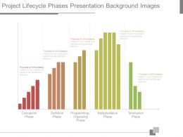 Project Lifecycle Phases Presentation Background Images