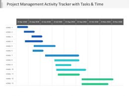 Project Management Activity Tracker With Tasks And Time