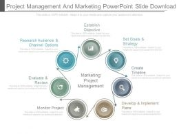 Project Management And Marketing Powerpoint Slide Download