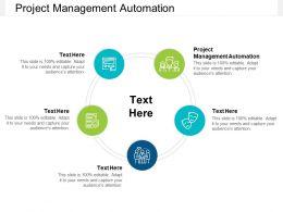 Project Management Automation Ppt Powerpoint Presentation Slides Cpb