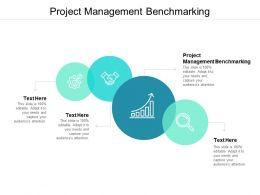 Project Management Benchmarking Ppt Powerpoint Presentation Gallery Deck Cpb