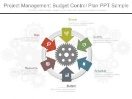 Project Management Budget Control Plan Ppt Sample