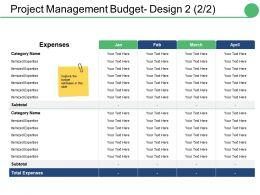 project_management_budget_design_ppt_slides_deck_Slide01