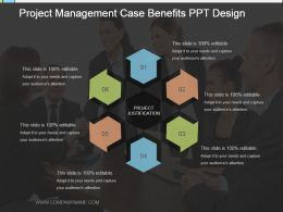 Project Management Case Benefits Ppt Design