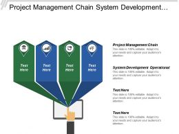 Project Management Chain System Development Operational Late Driverless