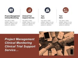 Project Management Clinical Monitoring Clinical Trial Support Service