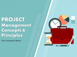 Project Management Concepts And Principles PowerPoint Presentation Slides
