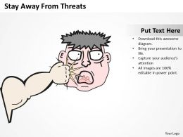 Project Management Consultant Away From Threats Powerpoint Templates PPT Backgrounds For Slides 0617