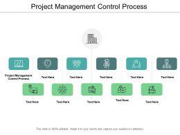 Project Management Control Process Ppt Powerpoint Presentation Infographic Template Slide Portrait Cpb