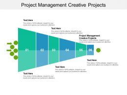 Project Management Creative Projects Ppt Powerpoint Presentation File Elements Cpb