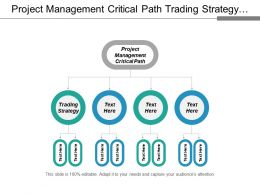 Project Management Critical Path Trading Strategy Meeting Agenda Cpb