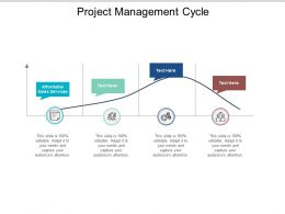 Project Management Cycle Ppt Powerpoint Presentation Pictures Introduction Cpb