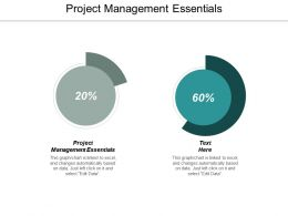 Project Management Essentials Ppt Powerpoint Presentation Outline Design Inspiration Cpb