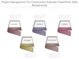 Project Management For Construction Example Powerpoint Slide Backgrounds