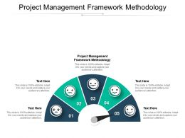 Project Management Framework Methodology Ppt Powerpoint Presentation Infographic Template Cpb