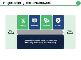 Project Management Framework Ppt Infographics Styles