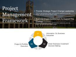 Project Management Framework Ppt Samples Download