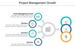 Project Management Growth Ppt Powerpoint Presentation Show Introduction Cpb