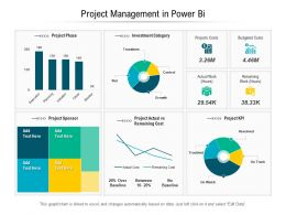 Project Management In Power Bi