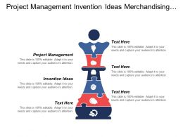 Project Management Invention Ideas Merchandising Strategy Business Development Cpb