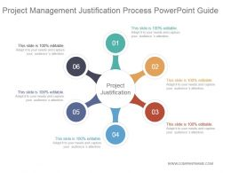 Project Management Justification Process Powerpoint Guide