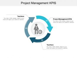 Project Management KPIS Ppt Powerpoint Presentation Inspiration Background Image Cpb