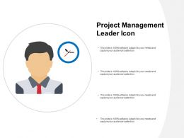 Project Management Leader Icon