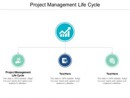 Project Management Life Cycle Ppt Powerpoint Presentation Infographic Template Clipart Images Cpb