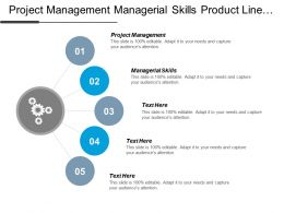 Project Management Managerial Skills Product Line Internet Marketing Cpb