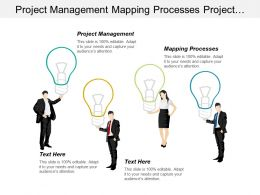 Project Management Mapping Processes Project Management Information System Cpb