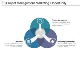 Project Management Marketing Opportunity Business Marketing Financial Planning Cpb