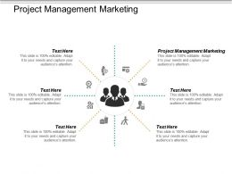Project Management Marketing Ppt Powerpoint Presentation Inspiration Objects Cpb